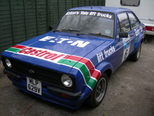 Eaton rally car