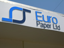 Euro Paper sign