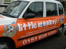 Little Monkeys taxicab