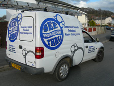 Seethru Window Cleaning van